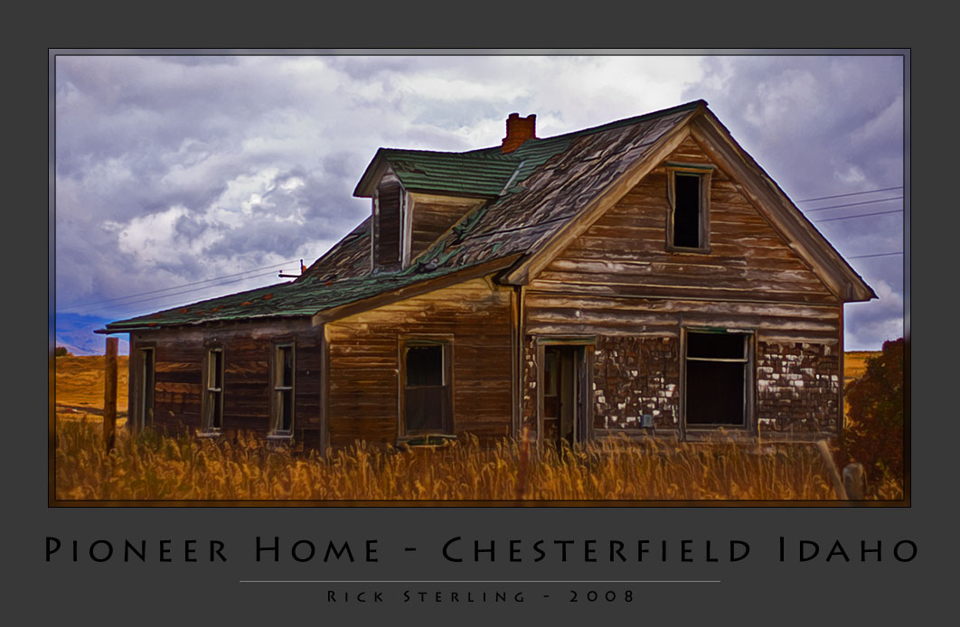 Pioneer Home in Chesterfield, Idaho